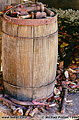 I took a photo of this old barrel sitting in my backyard. Citrus Heights, CA 'Nikon F100 35mm SLR' (Click for larger view)