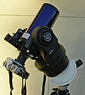 Telescope setup (Click for larger view)