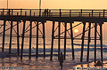 Here is another view of the pier at sunset. Oceanside, CA 'Minolta X700 35mm SLR' (Click for larger view)