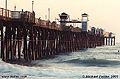 This pier is nearly 2000 feet long and was originally built in the 1890s. Oceanside, CA 'Minolta X700 35mm SLR' (Click for larger view)