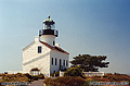 A second view of the upper lighthouse. Point Loma, CA 'Minolta X700 35mm SLR' (Click for larger view)