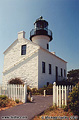 A third view of the upper lighthouse. Point Loma, CA 'Minolta X700 35mm SLR' (Click for larger view)