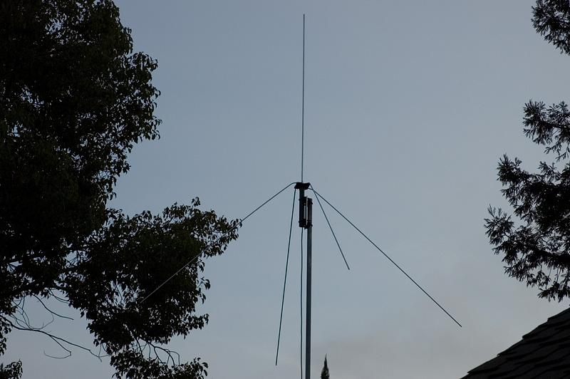 Mike Fedler N6tww 6 Meter 1 4 Wave Vertical Antenna